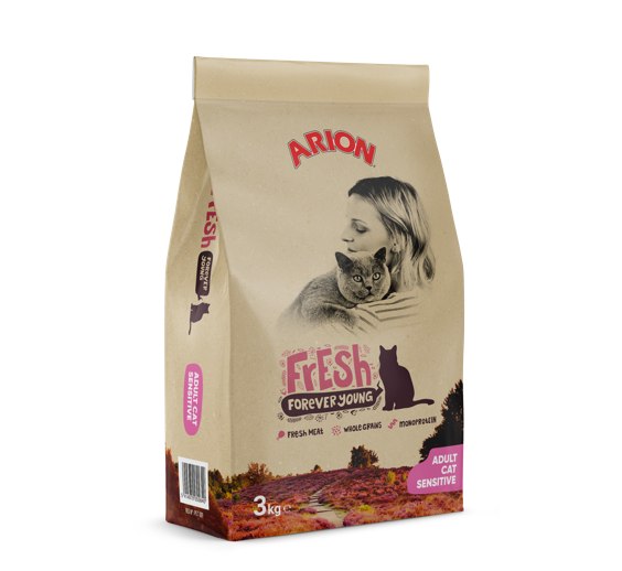 ARION Fresh Adult Cat Sensitive food Bag